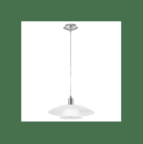 EGLO โคมไฟห้อย   E27 1x60W  สีขาว