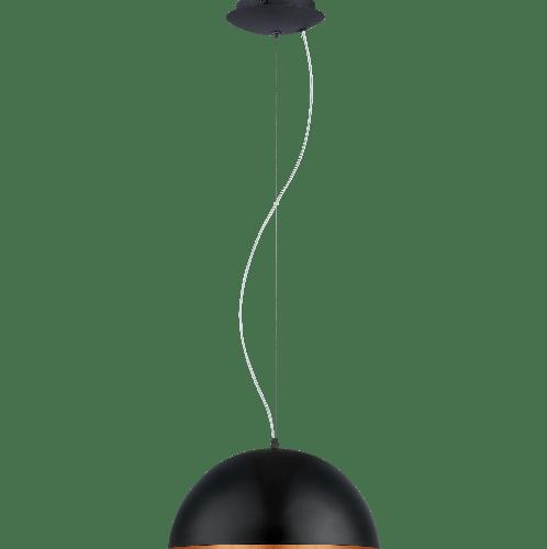 EGLO โคมไฟห้อย  GAETANO 1 E27 1x60W  สีดำ