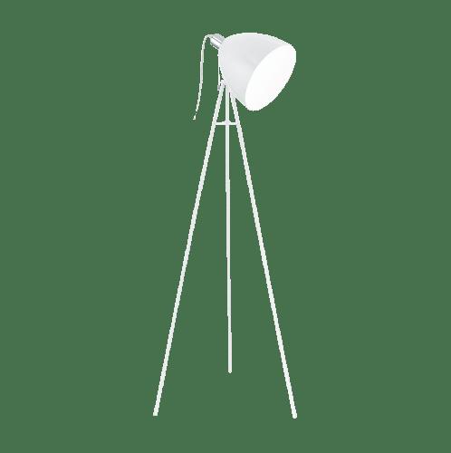 EGLO โคมไฟตั้งพื้น  DON DIEGO E27 1x60W  สีขาว