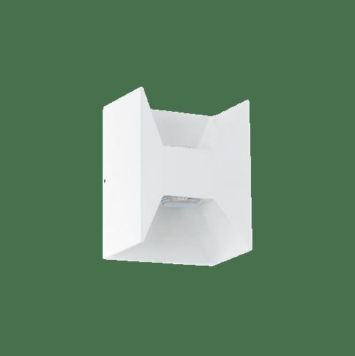 EGLO โคมไฟติดผนังภายนอกโมเดิร์ท  MORINO LED-MODUL 2x2,5W  สีขาว