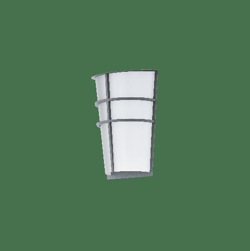 EGLO โคมไฟติดผนัง ภายนอก / 2x 2,5W /  BREGANZO LED-MODUL  สีเทา