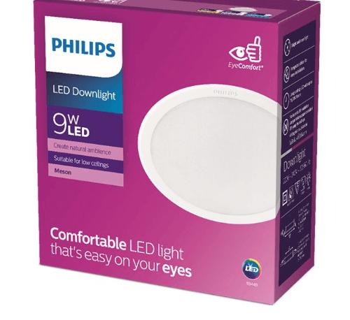 PHILIPS โคมไฟดาวน์ไลท์แอลอีดี เมสัน ขนาด 4 นิ้ว 9W  59449 แสงคูลไวท์ ขาว