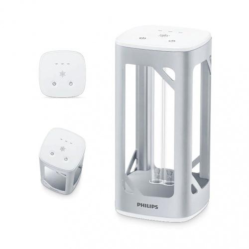 PHILIPS โคมไฟตั้งโต๊ะแสง UVC สำหรับฆ่าเชื้อโรค 24W สีขาว