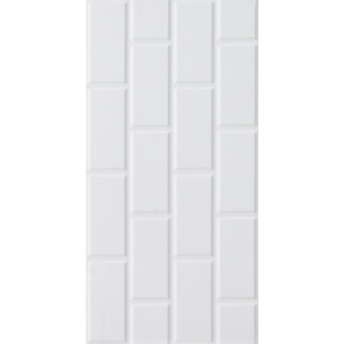 Marbella 30x60 กระเบื้องบุผนัง Brick white  (9P) A. HY36001 สีขาว