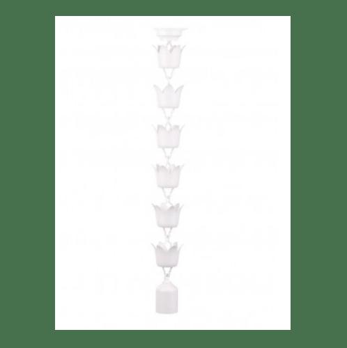 SCG โซ่น้ำลงดอกไม้-โลตัส 3ม. ขาว (1/ก) โซ่น้ำลงดอกไม้-โลตัส 3ม. ขาว (1/ก) สีขาว
