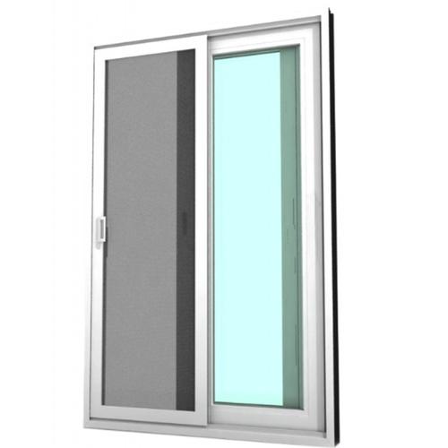 WINDSOR หน้าต่างบานเลื่อนสลับ ขนาด 100x110ซม.  Ready สีขาว