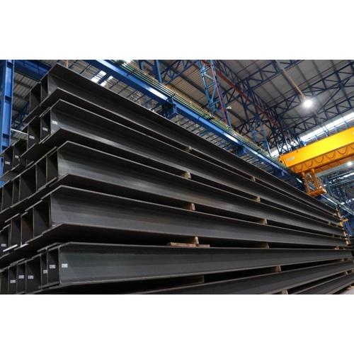 SYS เหล็ก H-Beam 250x250x9.0x14.0mmx6.0M SS400  สีดำ