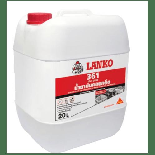 LANKO น้ำยาบ่มคอนกรีต LANKO 361 ขนาด 20 ลิตร สีขาว