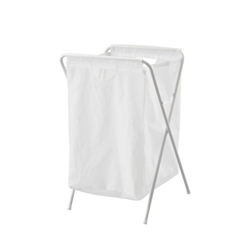 SAKU ถุงใส่ผ้าซักมีโครง  ขนาด 41x43x64 ซม.  B210 สีขาว
