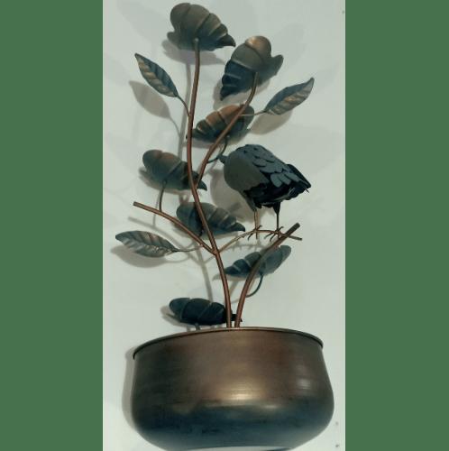 Tree O น้ำพุตกแต่ง 35.5x35.5x87ซม. WXF1905585 สีน้ำตาลอ่อน