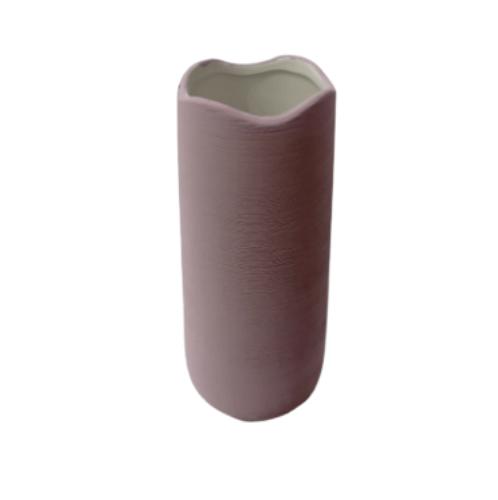 COZY แจกันตกแต่ง size M  QM038  สีชมพู
