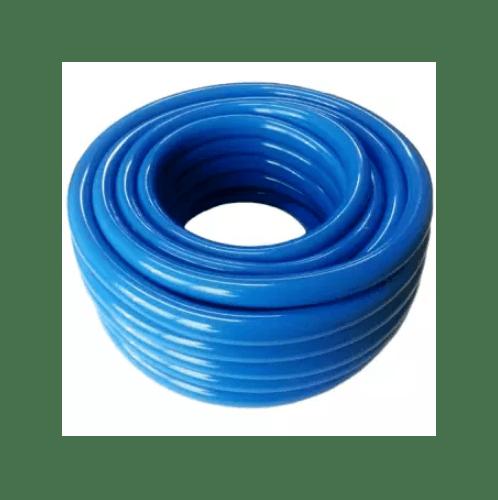 ท่อยางไทย สายยางฟ้าเด้ง 5/8 นิ้ว ยาว 20 เมตร สีน้ำเงิน