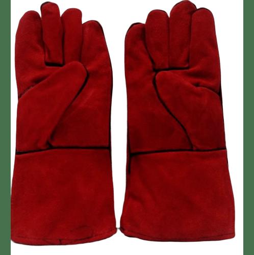 Protx ถุงมือเชื่อม 14 นิ้ว  JR-WGR สีแดง