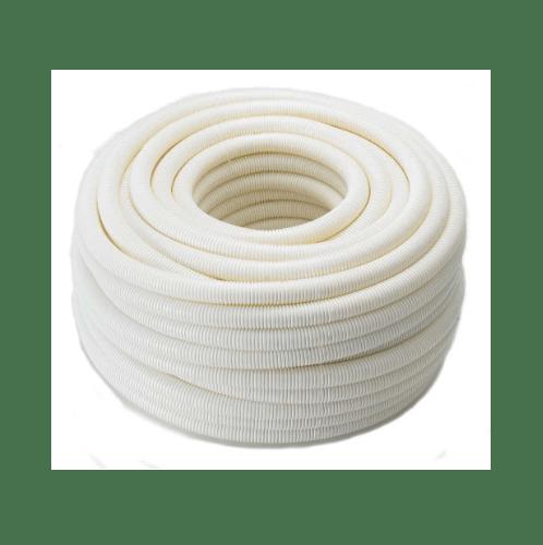 ท่อลูกฟูกร้อยสายสีขาว 1/2(18x50) - ขาว