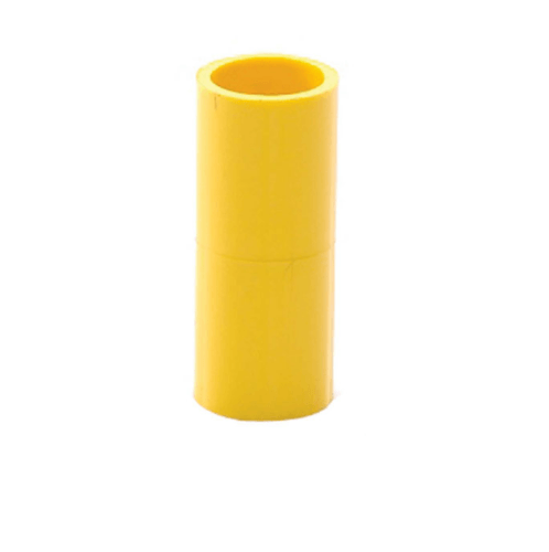 SCG ข้อต่อตรงเหลือง ขนาด 1/2 นิ้ว - สีเหลือง