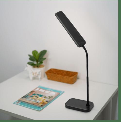 EILON โคมไฟตั้งโต๊ะ Modern  LE-1916 สีดำ