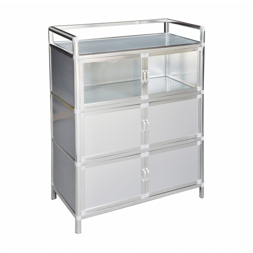 CLOSE ตู้อเนกประสงค์ ขนาด 79x40x107 ซม.   LUSTY-S สีขาว