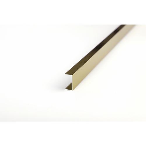 MAC กรุยเชิงอลูมิเนียม 10 มม. ยาว 2 เมตร 2DDY028-G สีแชมเปญ