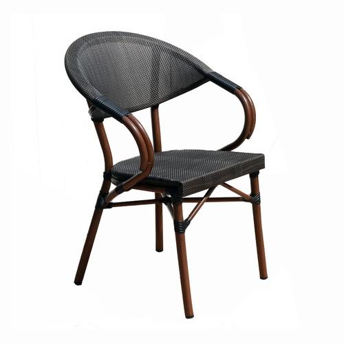 Summer Set เก้าอี้หวาย ขนาด 56x64x85ซม. S03-1 สีน้ำตาล