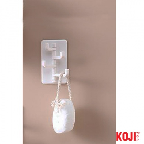 KOJI ตะขอแขวนติดผนัง  ขนาด 5.5x9x3 cm.  2ZXS004-WH สีขาว