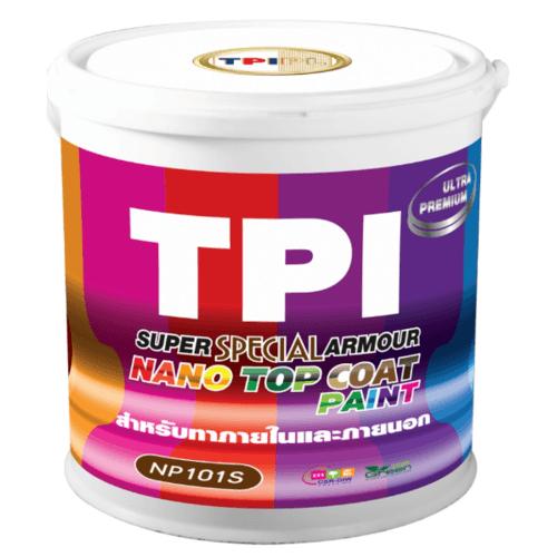 TPI สีทีพีไอ ซูเปอร์ นาโน อาร์เมอร์ เพ้นท์  สีพิเศษ NP101S