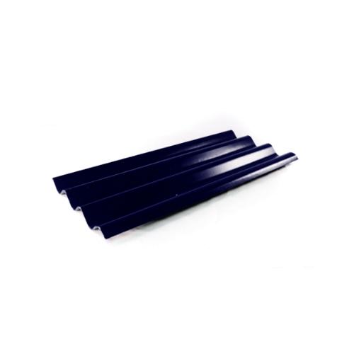 โอฬาร กระเบื้อง 0.5x52x150ซม. (ลูกโลก)  สามลอน สีน้ำเงิน