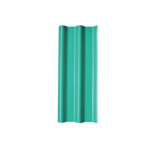 โอฬาร กระเบื้อง 0.5x50x150 ซม. สีประกายเขียวมรกต (ลูกโลก) ลอนคู่