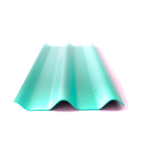 จิงโจ้ กระเบื้อง 0.4x50x150 ซม. สีเขียวรุ่งเรือง (ลูกโลก)  ลอนคู่