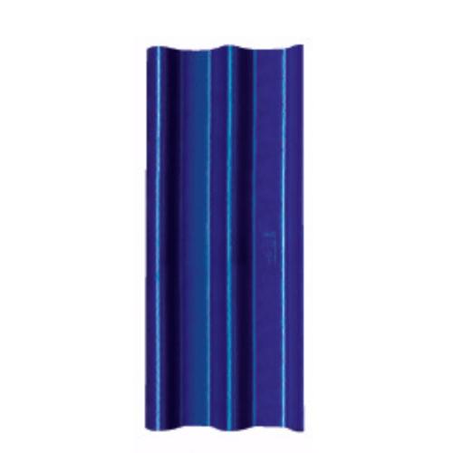 โอฬาร กระเบื้อง 0.4x50x120 ซม. สีฟ้าเลิศนภา (ลูกโลก) ลอนคู่