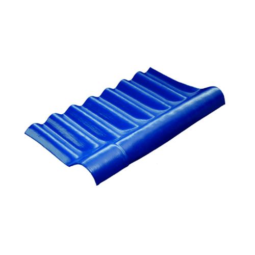 โอฬาร ครอบปรับมุมลอนเล็กตัวบน 54*29 ซม. (ลูกโลก) สีฟ้าเลิศนภา