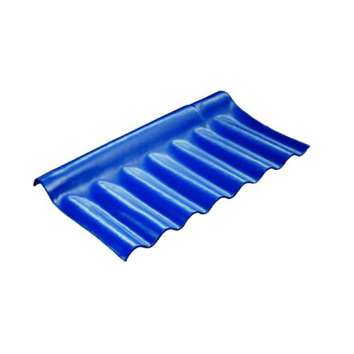 โอฬาร ครอบปรับมุมตัวล่าง สีฟ้าเลิศนภา (ลูกโลก) ลอนเล็ก