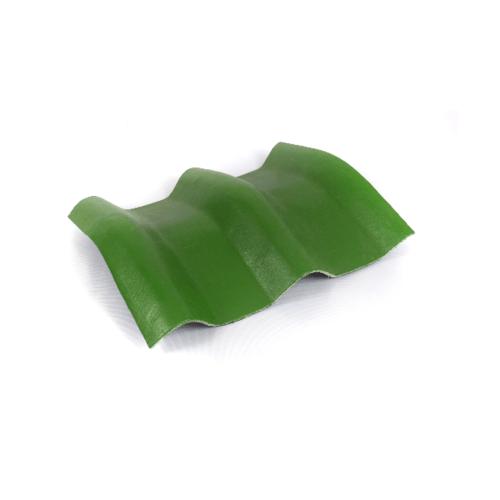 โอฬาร ครอบมุม 15 องศา สีเขียวหยก (ลูกโลก) ลอนคู่