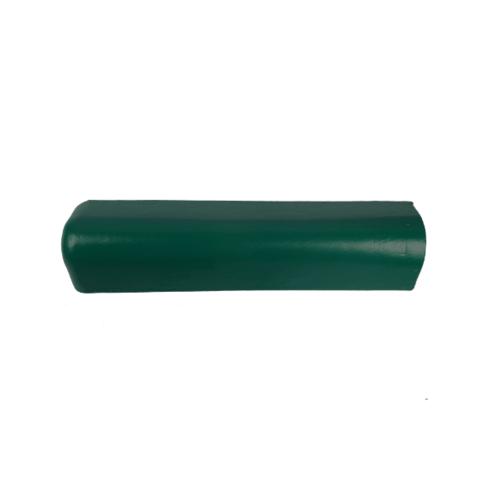 โอฬาร ครอบปิดชายคู่/เล็ก (ยาว)ใยหิน (ลูกโลก) สีเขียวไพรสน ลอนเล็ก