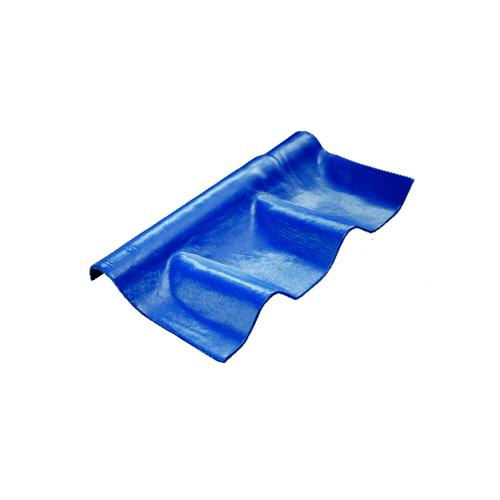 โอฬาร ครอบปรับมุมตัวล่าง 57*27 ซม.สีฟ้าเลิศนภา (ลูกโลก)  ลอนคู่