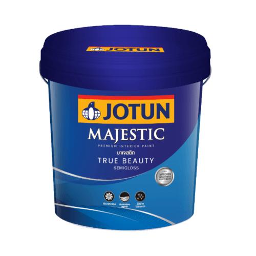 Jotun  มาเจสติก ทรูบิวตี้ กึ่งเงา (NEW)  เบส เอ 9 ลิตร