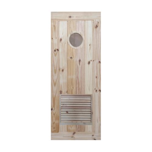 BEST ประตูไม้สนขนาด 80x200 ซม. GS79