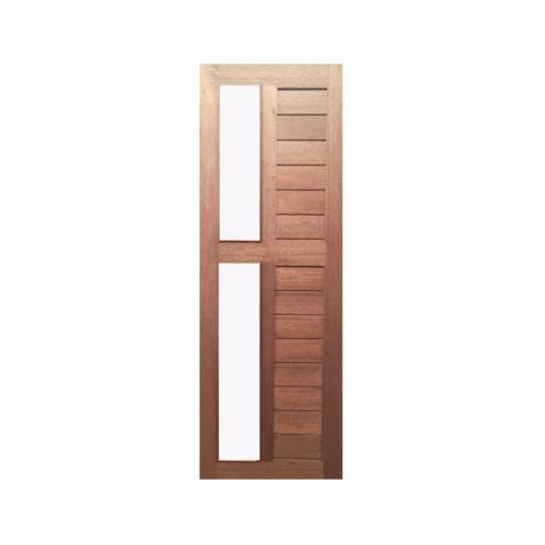 BEST  ประตูไม้สยาแดง แบบโปร่ง  ขนาด 80x200 ซม. GS-57