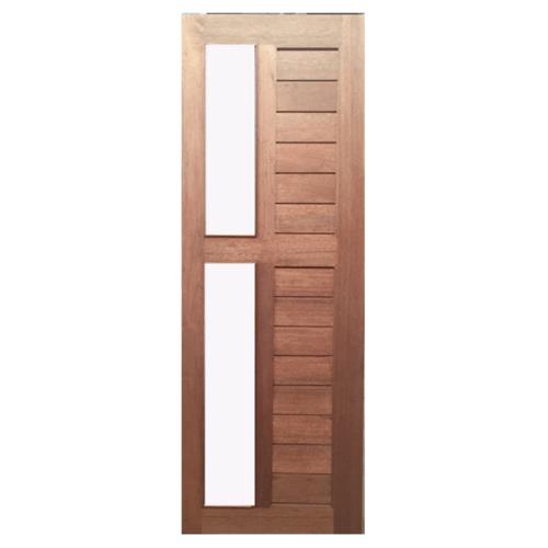 BEST ประตูกระจกไม้จาปาร์ก้า  ขนาด 80x200 cm.  GS-57