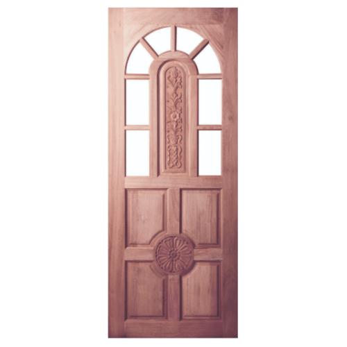 BEST ประตูกระจกไม้จาปาร์ก้า ขนาด 105x210 cm.(ทำสี) GC-76
