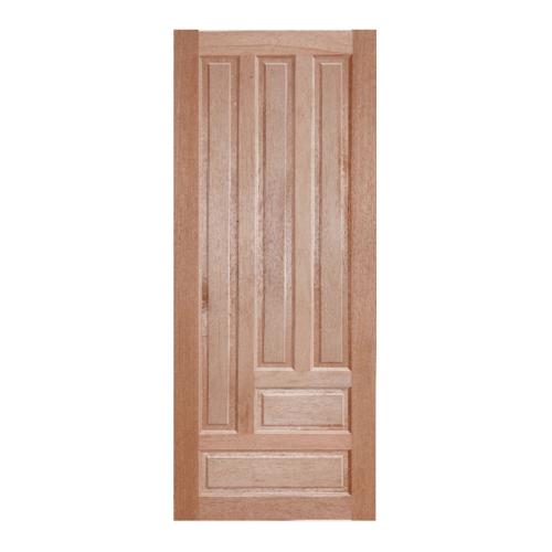 BEST ประตูไม้สน บานทึบลูกฟัก ขนาด 80x220ซม.  GS-03