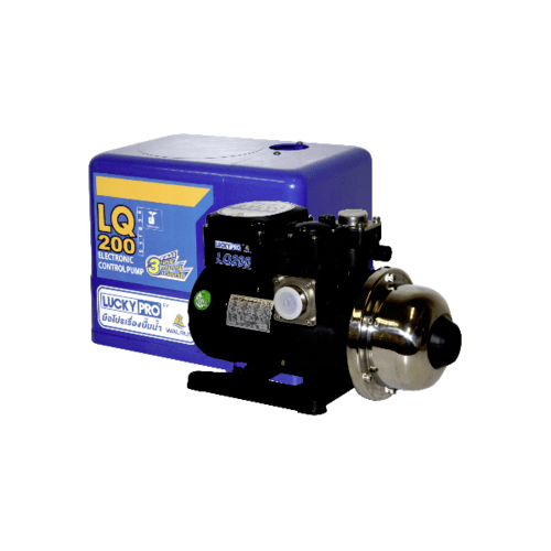 LUCKYPRO ปั๊มน้ำอัตโนมัติ 200W. 220Vหลายใบพัด  LP-LQ200 สีดำ