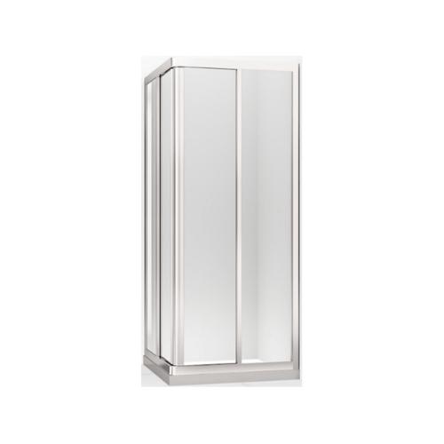 KOHLER ตู้อาบน้ำบานเลื่อน 4 เหลี่ยม เฟรมสีขาว โอดิออน K-17117 X-C-0