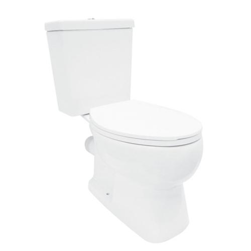 karat สุขภัณฑ์สองชิ้น (ออกกำแพง) 3/ 4.5 ลิตร พร้อมฝารองนั่งแบบกันกระแทก K-75443X-S-WK เฟิร์น สีขาว