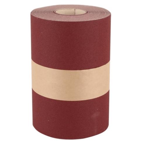 NORTON กระดาษทรายม้วนอินโด #80 (45ม./ม้วน) H231 สีน้ำตาลเข้ม