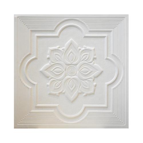 TPS แผ่นยิปซั่มลาย #908 สีขาว