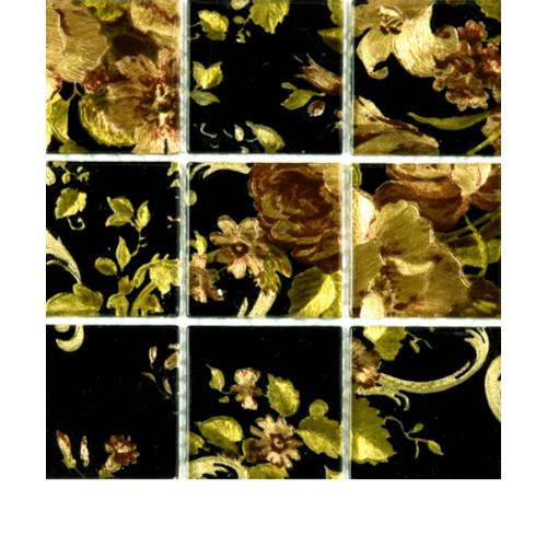 DURAGRES โมเสคแก้ว  GL-895 English Roses