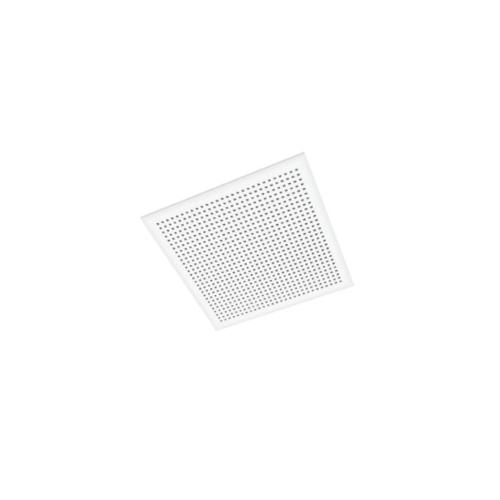 Gyproc แผ่นฝ้าเพดานโมเดิร์น อะคูสติกยิปโทนไทล์ ควอตโตร20  ขอบตรง 10x595x595mm.(8แผ่น/แพ็ค)ยิปรอค