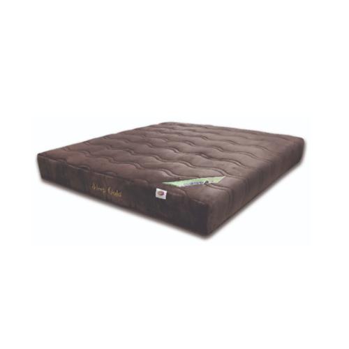 SLEEPER ที่นอนยางพาราอัด ผ้าขนมิ้ง รุ่น Sleeper Gold ขนาด  3.5 x 9  น้ำตาล