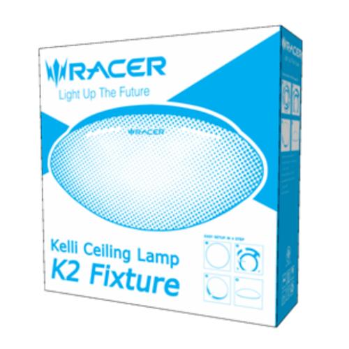 RACER โคมเพดาน แอลอีดี เค2 โคมเปล่า Kelli Ceiling Lamp K2 Fixture สีขาว