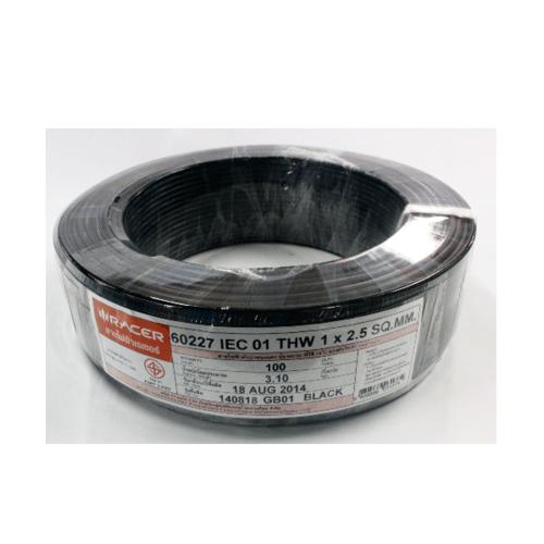 RACER สายไฟ IEC01 THW 1x2.5.100M 13201CA01210050